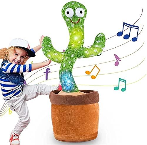 Giocattoli di Peluche di Cactus, Dancing Cactus Che Balla Giocattolo di Educazione Precoce, Giocattoli di...