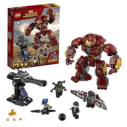 LEGO 76104 Super Heroes Le Combat de Hulkbuster