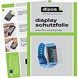 dipos I Schutzfolie matt kompatibel mit Withings Pulse Ox Folie Bildschirmschutzfolie