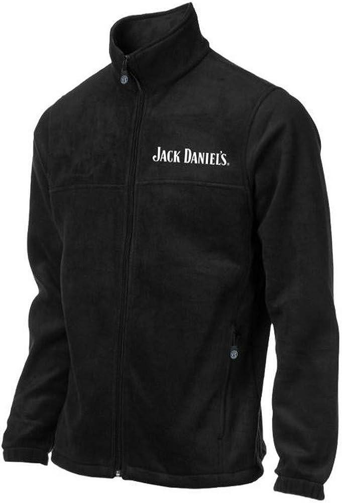 Jack Daniels Men's Daniel's Fleece Zip-Up Logo Jacket - 15241060Jd-89