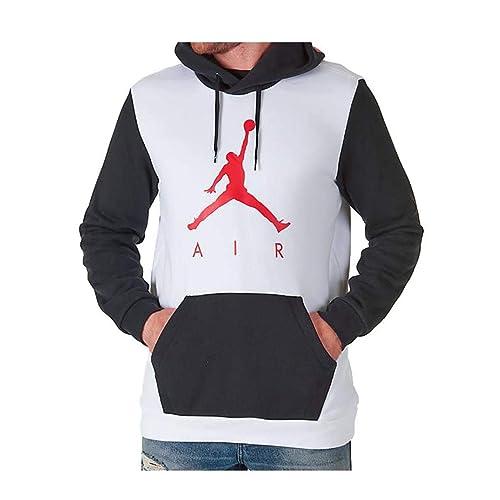 4fa994bf6f8 Jordan Nike Mens Air Jumpman Graphic Pull Over Hoodie