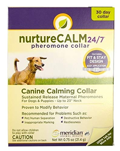 Nurturecalm 24/7 Canine Calming Pheromone Collar...