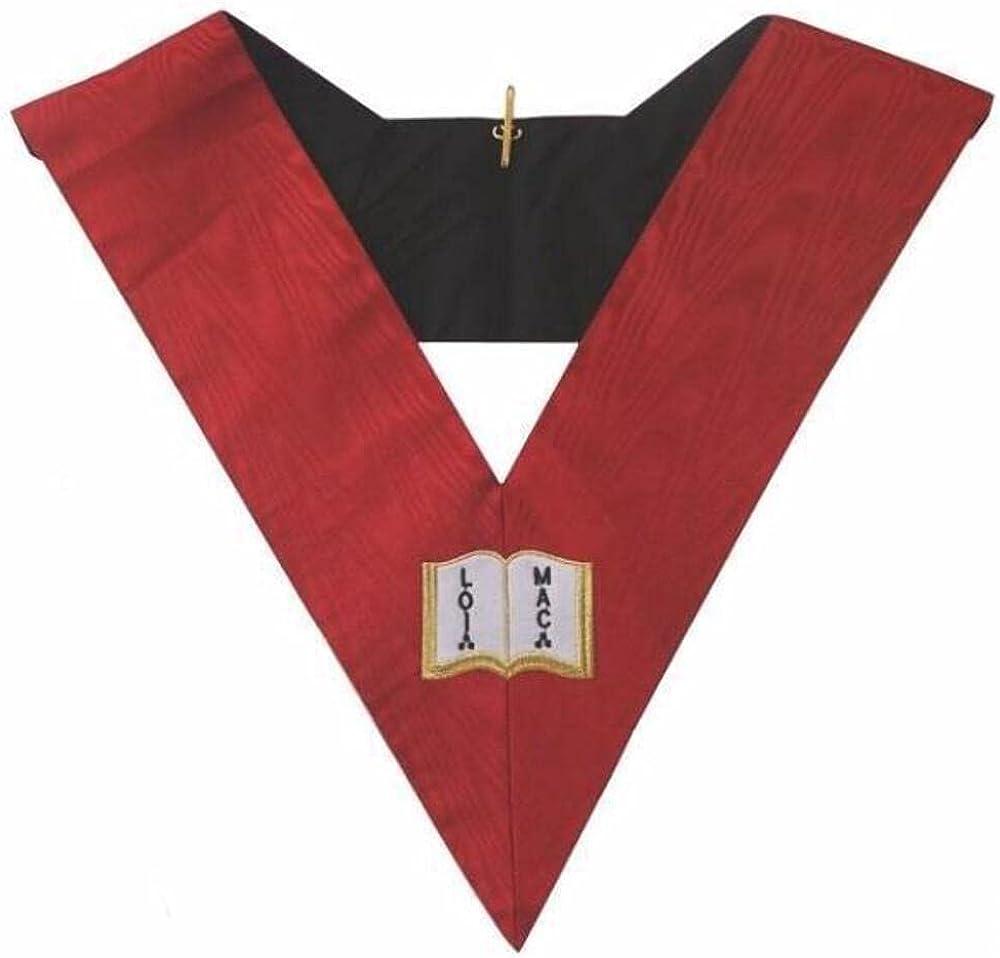 Masonic AASR collar 18th degree - Knight Rose Croix- Orator