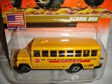 MATCHBOX #31 OF 100 MATCHBOX USA SERIES ST. THOMAS ELEMENTARY SCHOOL ROCKY RIVER OHIO SCHOOL BUS '2000' TEMPO CHASE DIE-CAST COLLECTIBLE