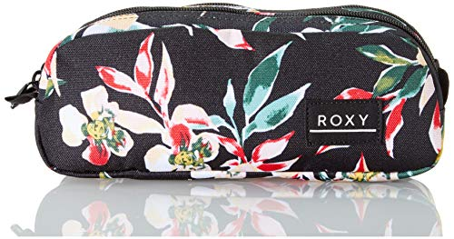 Roxy DA Rock, Estuche para lápices. para Niñas, Color gris antracita Wonder Garden S, Medium