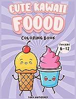 Cute Kawaii Coloring book for kids 6-12