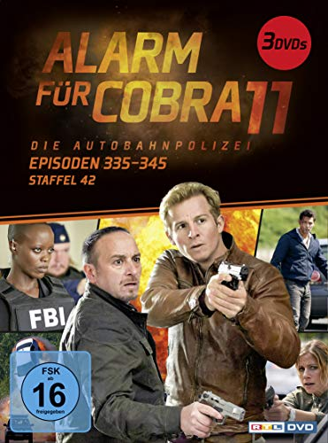 Alarm für Cobra 11 - Staffel 42, Episoden 335-345 [3 DVDs]