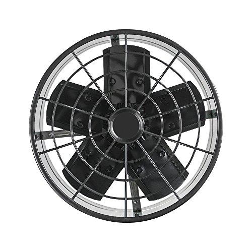 Ventilador Axial Exaustor Industrial Ventisol Preto 30 cm