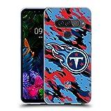 Head Case Designs sous Licence Officielle NFL Camou Tennessee Titans Logo Coque en Gel Doux...