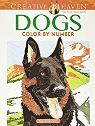 Dogs - Color by Number from Creative Haven