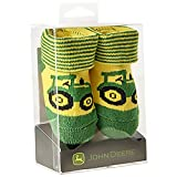 Infant John Deere Tractor Booties (Green / Yellow) - LP64355
