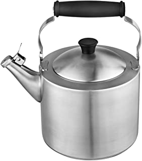 3.5L Camping Gas Kettle, Induction Hobs Gas Ceramic Stainless Steel Whistling Kettle