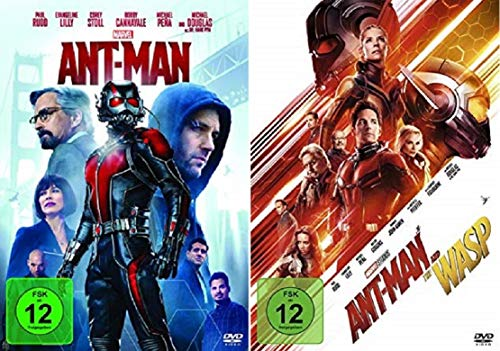 Ant-Man + Ant-Man and the Wasp / Teil 1+2 [DVD Set]