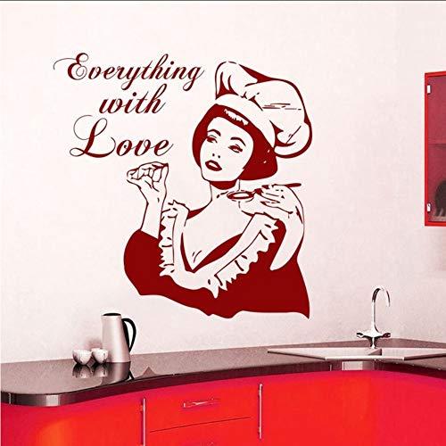 Makeyong Nieuwe Interieur Ontwerp Muurstickers Whiteboard Vinyl Stickers Keuken Café Shop Decoratie Verwijderbaar42X43Cm