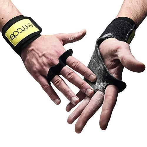 E-MODE - Guanti Crossfit Uomo e Donna 2a Generazione Paracalli per Palestra, Calisthenics, Fitness e Allenamento - Protezione Mani da Ferite e Lesioni