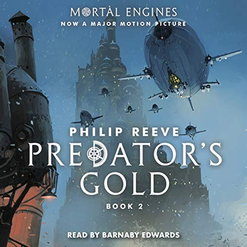 Predator's Gold audiobook cover art