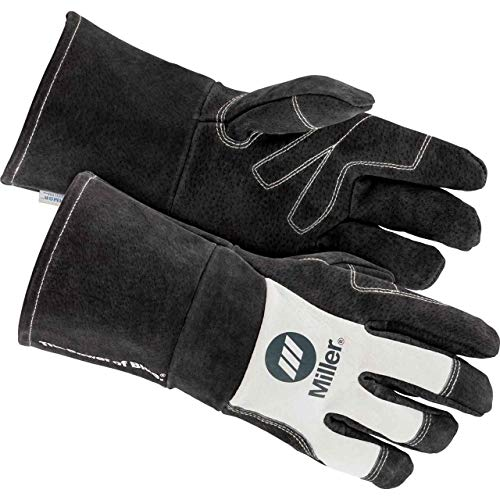 Miller Electric Mens MIG Welding Gloves, 271889, Size XLarge