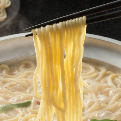 【博多→直送】 もつ鍋専用 しめのちゃんぽん麺 2人前
