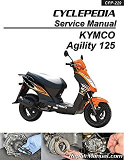 CPP-229-P Cyclepedia KYMCO Agility 125 Scooter Printed Service Manual