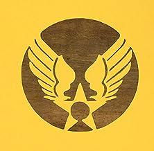 ステンシル 型紙 シート USAF 旧ロゴ USエアフォース 紙製 【3インチ】