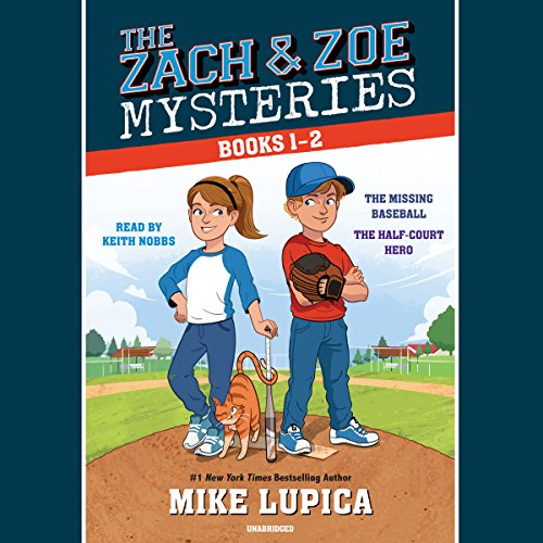 Couverture de The Zach and Zoe Mysteries: Books 1-2