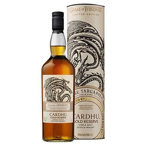 Cardhu Gold Reserve Single Malt Scotch Whisky - Haus Targaryen Game of Thrones Limitierte Edition (1 x 0.7 l)