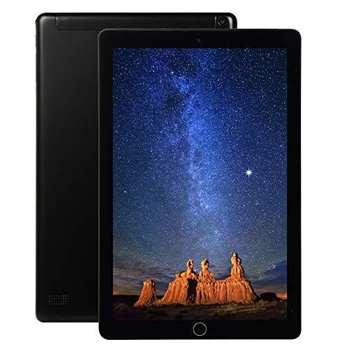 MNBVC Tableta 10.1 Pulgadas HD IPS Tablet Android con WiFi Bluetooth Procesador Quad-Core RAM De 2GB 16GB De Memoria Interna Doble Cámara Tableta