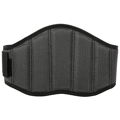 Qqmora Nylon Sports Trimmer Trimmer Accesorio Soporte de Cintura Cinturón de Fitness, para Ejercicios de Fitness, para Levantamiento de Pesas(XL)