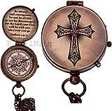 Royalmart Baptism Gift Personalized Keepsake Compass...