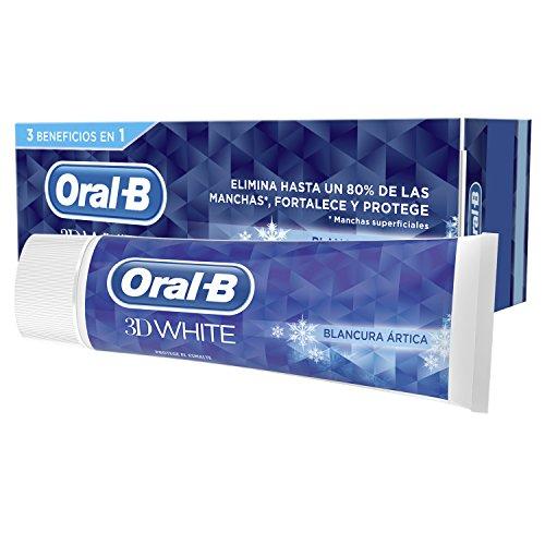 Oral-B 3D White Arktis Tandpasta, 4 containers van 75 ml, in totaal 300 ml
