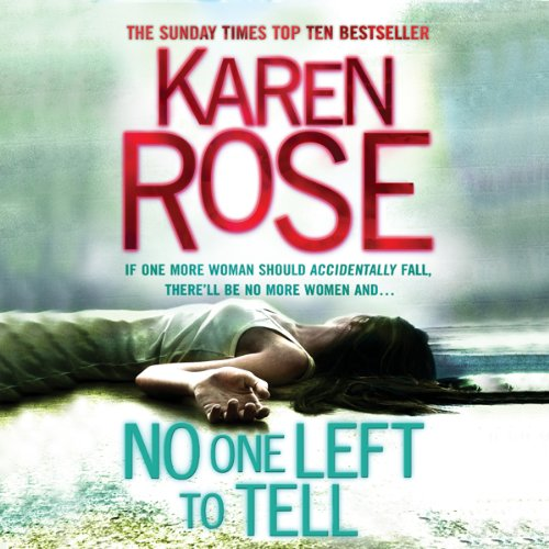 No One Left to Tell audiobook cover art
