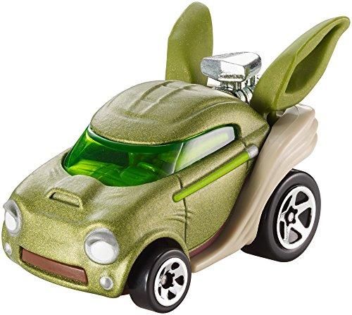 Mattel Hot Wheels DXP54 vehículo de Juguete - Vehículos de Juguete (Multicolor, Coche, Star Wars, Yoda, 3 año(s), 1:64)