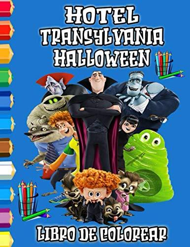 Hotel Transylvania Halloween Libro De Colorear: Maravilloso libro para colorear para niños y adultos