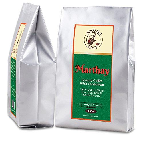 Marthay Café Molido Gourmet Con Cardamomo 250g - 100% Á
