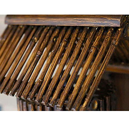 Mkjbd wandlamp tuinlamp wandlamp wandlamp creatieve decoratieve bamboe wandlamp vloerlamp café kunsthandwerk bamboe wandlamp 30 cm x 22 cm