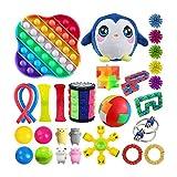 26 PCS Fidget toy pack barato, Juguetes para aliviar el estrés y la ansiedad de adultos y niños, Juguete de descompresión de juguete de terapia sensorial para el autismo con TDAH,H,Establecer A