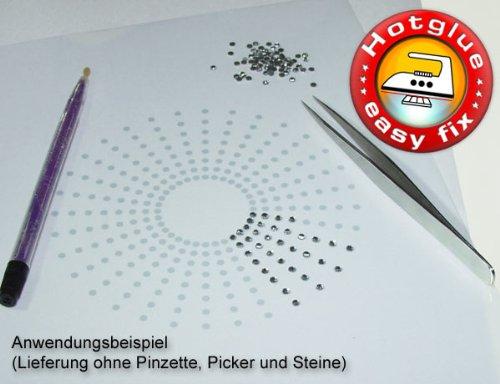 5 Bögen Strass Transferfolie, je 20 x 25 cm, zum Herstellen von Strass-Motiven