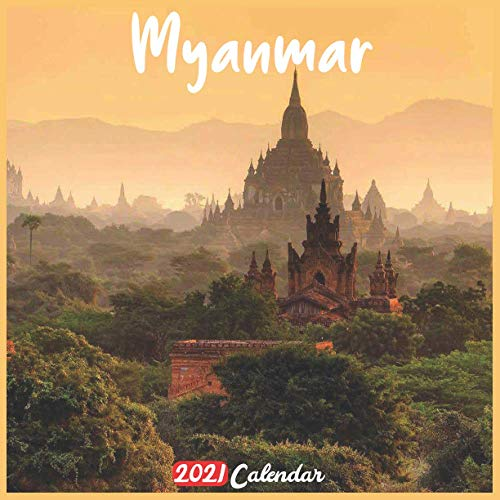 Myanmar 2021 Calendar: Official Burma Wall Calendar 2021, 18 Months