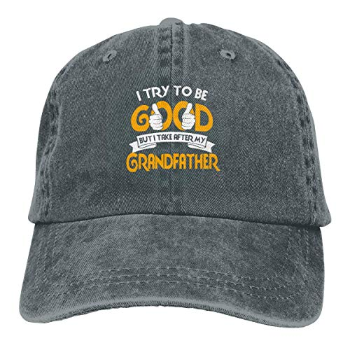 Sdltkhy I Try To Be Good, Take After My Daddy, Trucker, Baumwolle, Denim