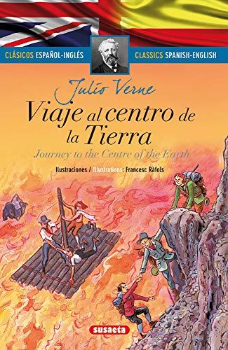 Viaje al centro de la tierra - español/inglés (Clásicos