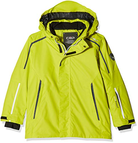 CMP Kinder Feel Warm Flat 3.000 Skijacke, Limeade, 104