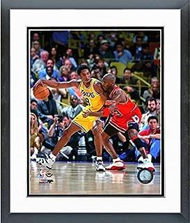 NBA Kobe Bryant & Michael Jordan Action Photo (Size: 12.5