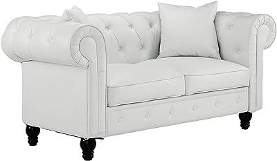 Amazon.com: US Pride Muebles Sophia estilo moderno Tufted ...