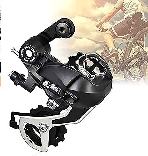 Melodip - Deragliatore posteriore per bicicletta, cambio cambio cambio cambio bicicletta a 6/7/8 velocità, mountain bike, mountain bike