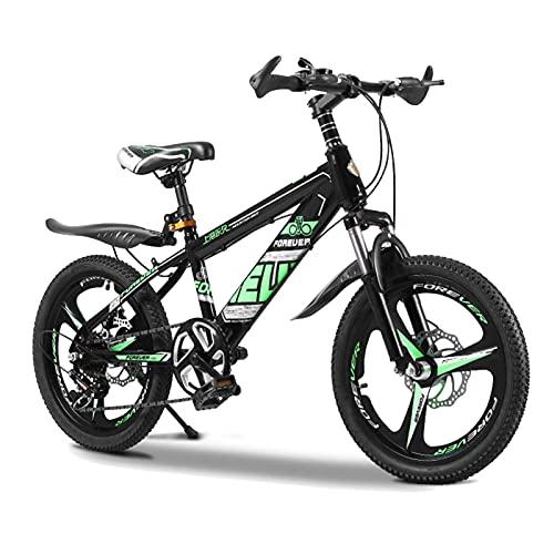 Axdwfd Infantiles Bicicletas Bicicleta para niños de 18 a 20 Pulgadas con Ruedas de Entrenamiento para niñas de 7-14 años, Bicicleta para niños con 95% ensamblado, 3 Colores