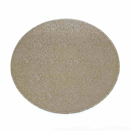 Single Round Silver Cake Board with Turned Edge 1.7mm in Various Sizes by Turtle Products (6 inch) ... by Bakery direct Ltd