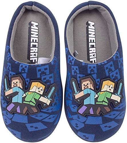 Minecraft Niños/Niños Comfort Zapatos Zapatillas de casa