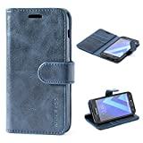 Mulbess Samsung Galaxy A3 2017 Case Wallet, Leather Flip