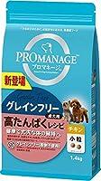 (まとめ買い)マース プロマネージ グレインフリー 成犬用 高たんぱくレシピ チキン 小粒 1.4kg 【×3】