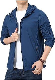 Ropa de la piel de los hombres de protección solar ropa delgada elástica ropa de ciclismo ropa de viento y protección UV ropa delgada